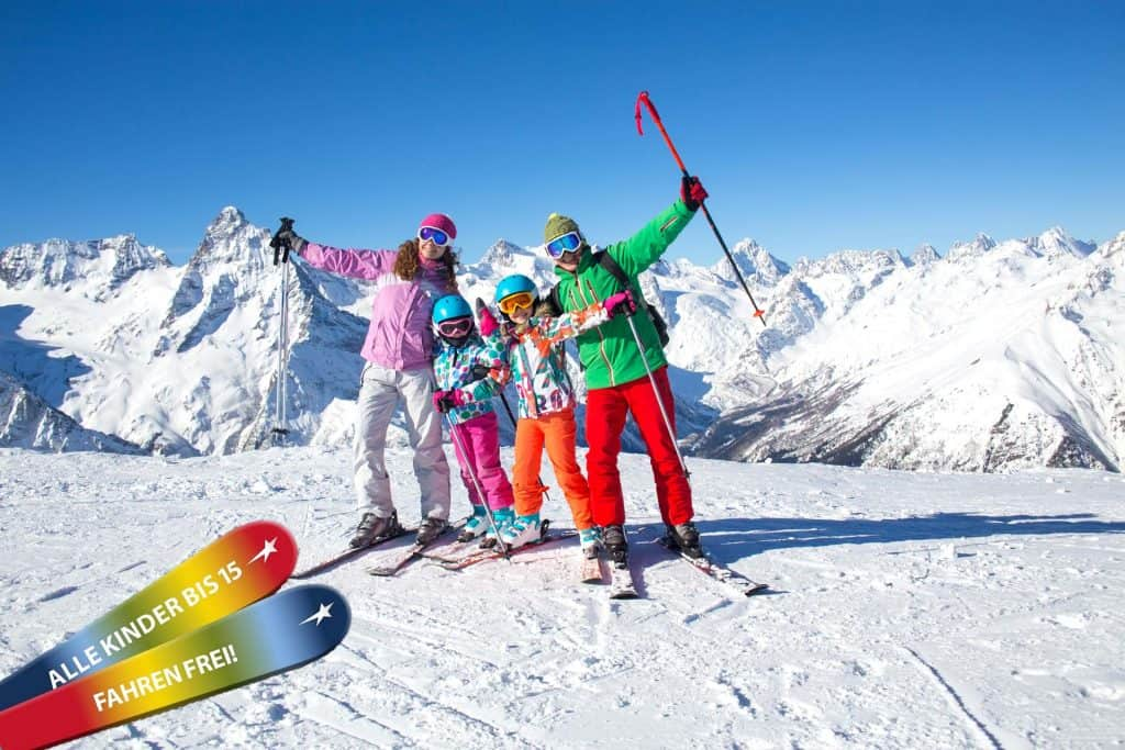 Familienskiwochen SkiWelt