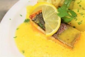 Abendessen Fisch