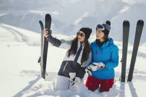Skifahren in der SkiWelt
