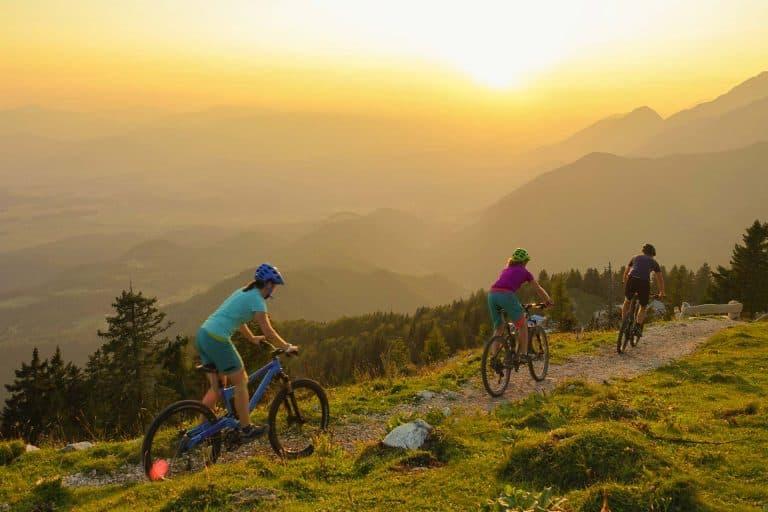 Mit dem E-Bike auf die Tiroler Berge