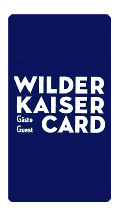 Wilder Kaiser Gästekarte