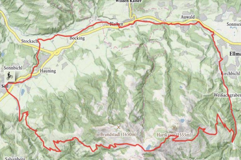 Mountainbike Brandstadlrunde