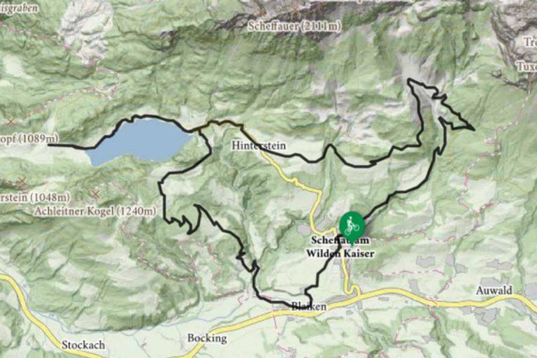 Mountainbike zum Hintersteinersee Kaiseralm