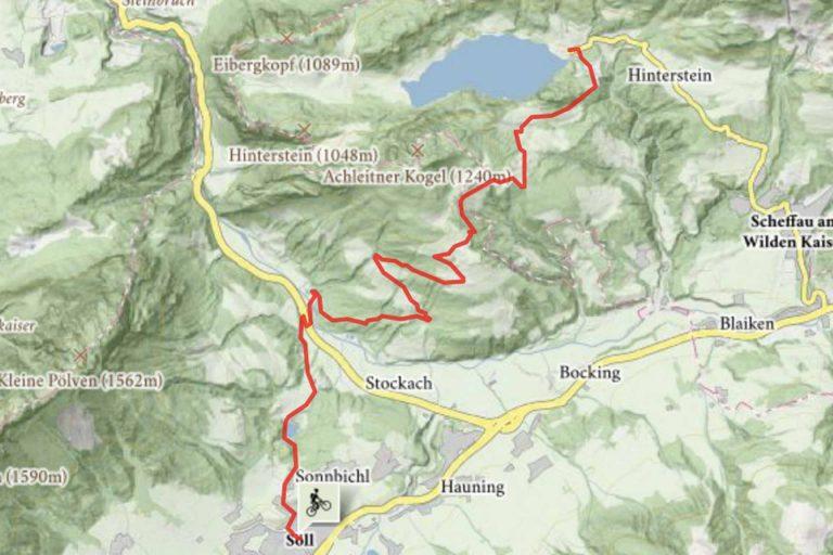 Mountainbike Soell Hintersteinersee