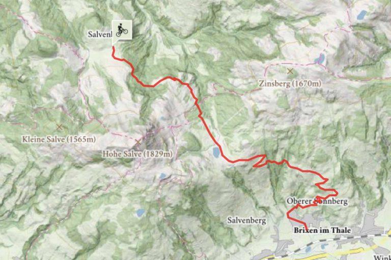 Mountainkiketour Hochsöll Brixen im Thale