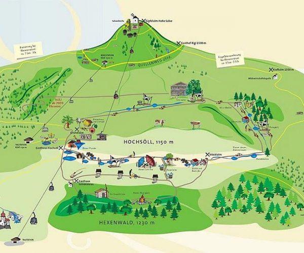 ErlebnisWelten Hexenwasser in Hochsöll
