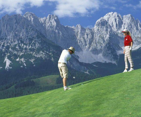 Golf Panorama am Wilder Kaiser