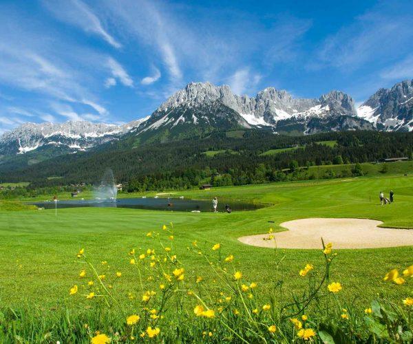Golfplatz Ellmau Wilder Kaiser