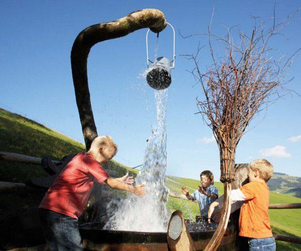Hexenwasser Hochsöll ein Kinderparadies