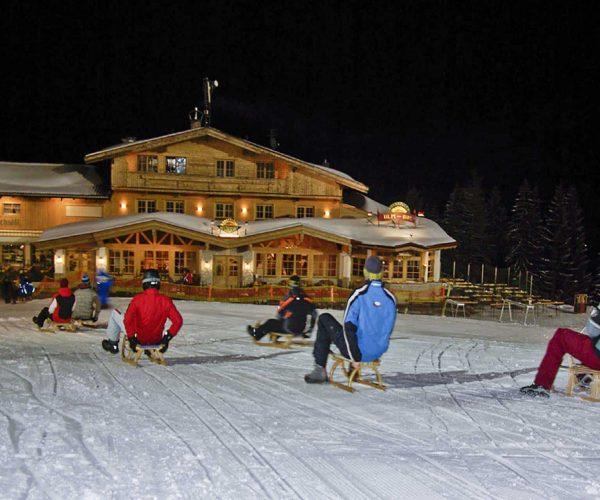 Rodeln in der SkiWelt Wilder Kaiser
