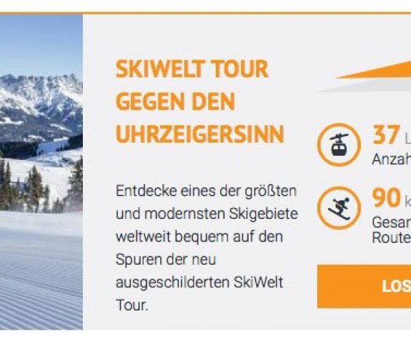 Skiwelt Tour Webcams