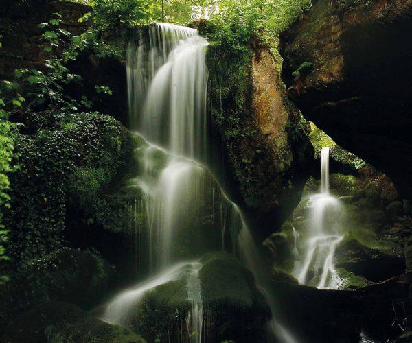 Sommer Wasserfall Hochsöll