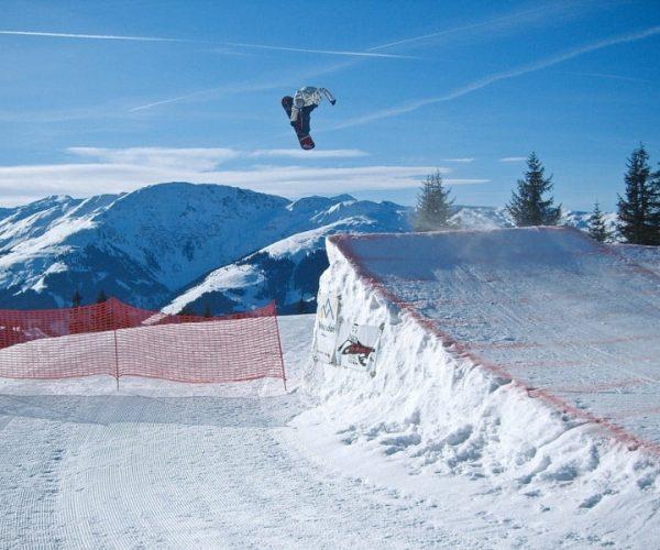 Funpark in der SkiWelt